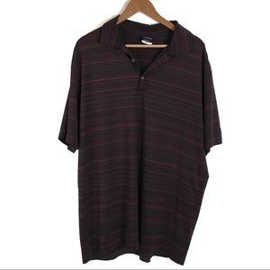 Nike Sz XL Dri-Fit Golf Polyester Polo Shirt 0082